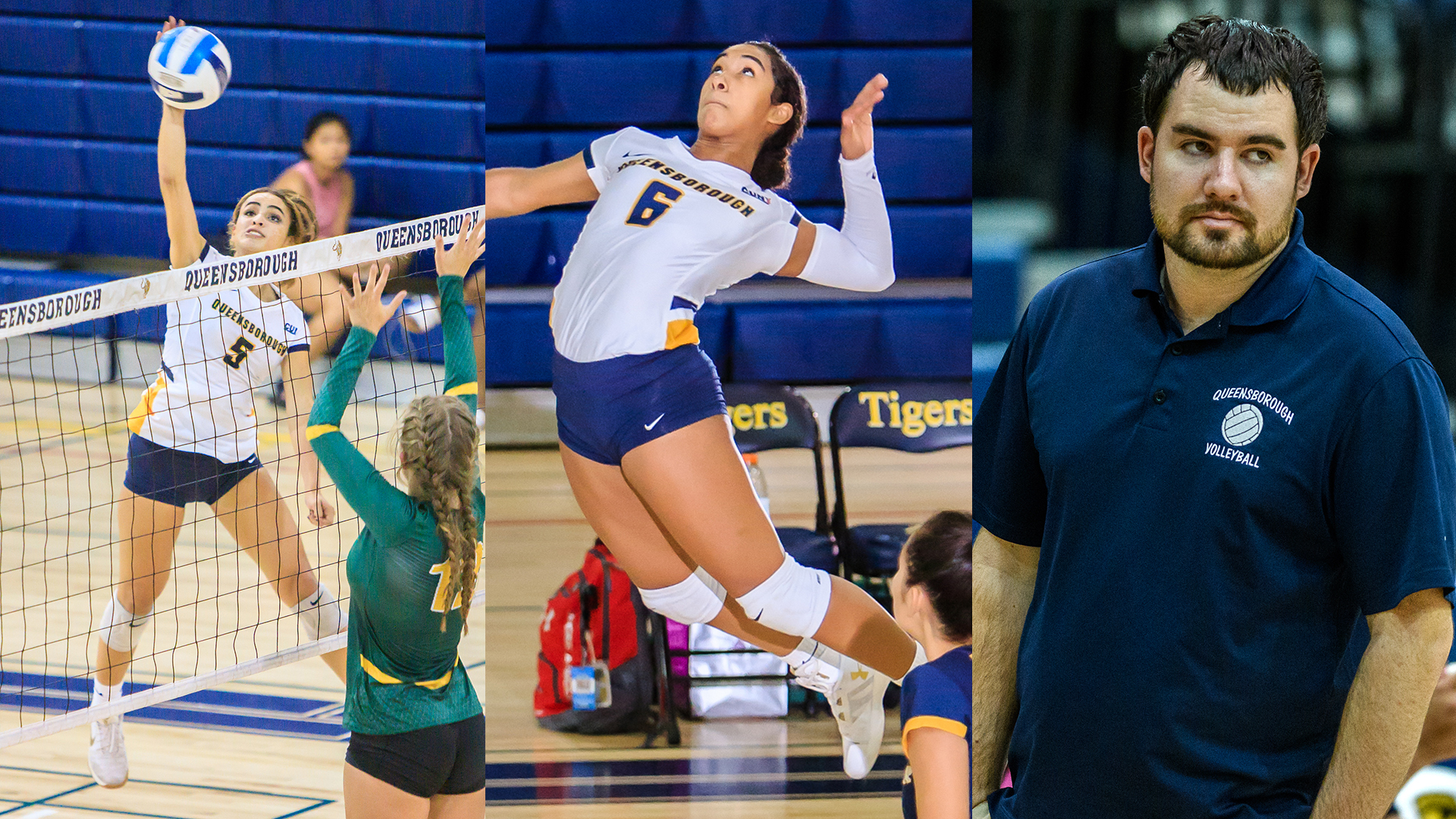 Paola Beniquez, Ashley Saladin, and Coach Jason Demas named