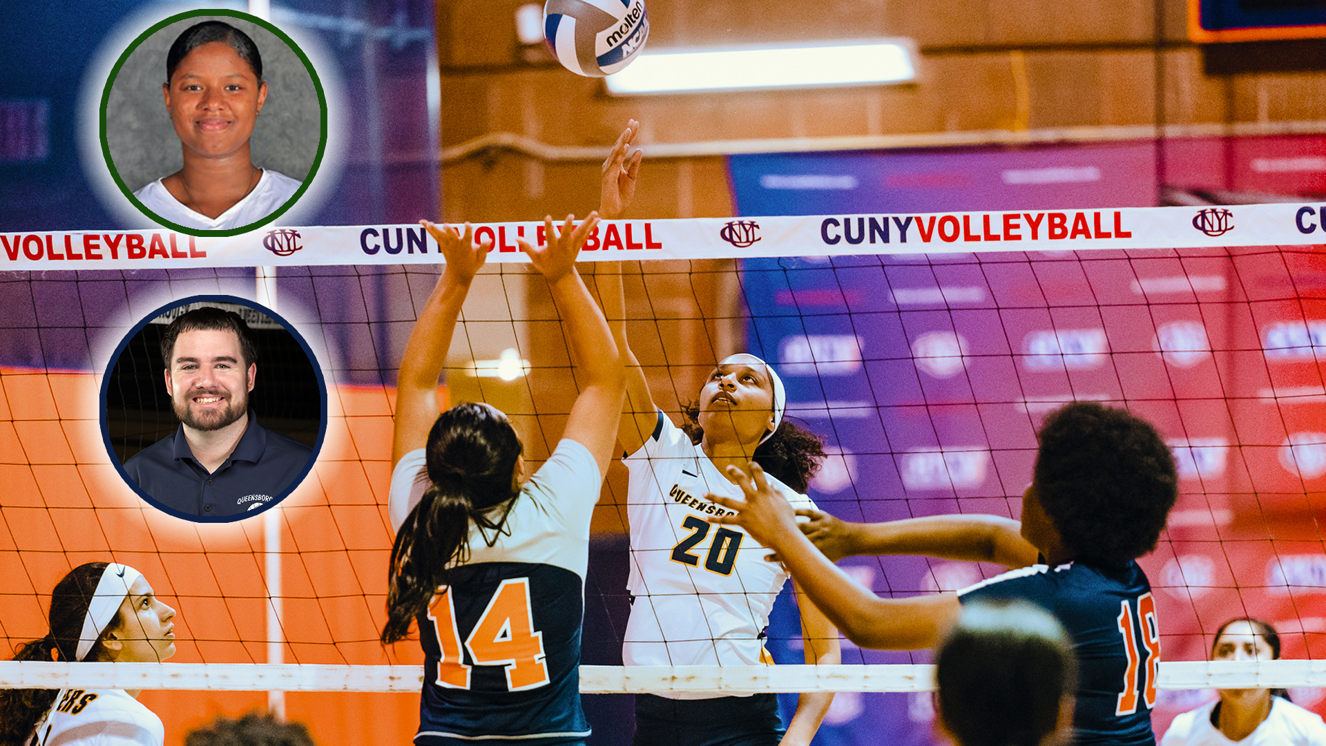 Queensborough's Garcia-Lawson Claims CUNYAC C.C. Women's Volleyball Player of the Year; All-Stars Announced